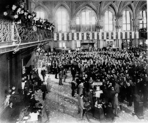 New York Stock Exchange Are Seen During The Last Trading